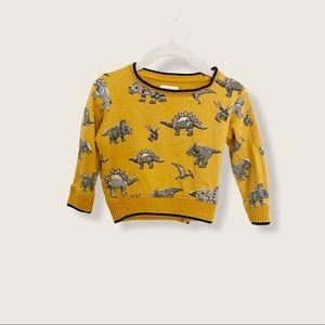 Monsoon Dino Print Sweater Size 6-12 M